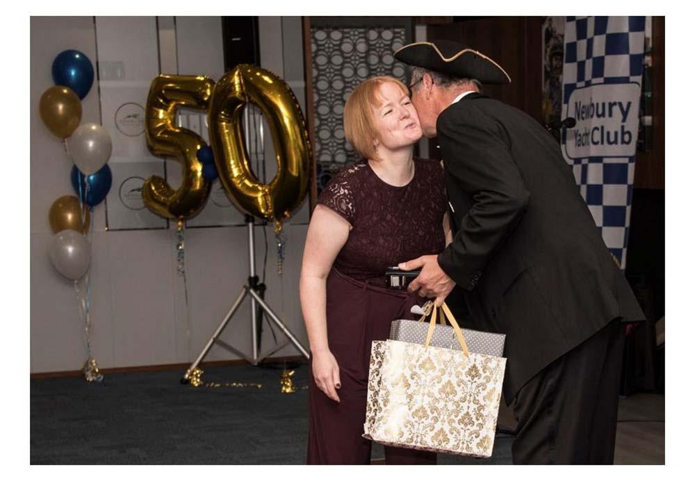 Newbury Yacht Club 50th Celebration Celebration photo book page 24
