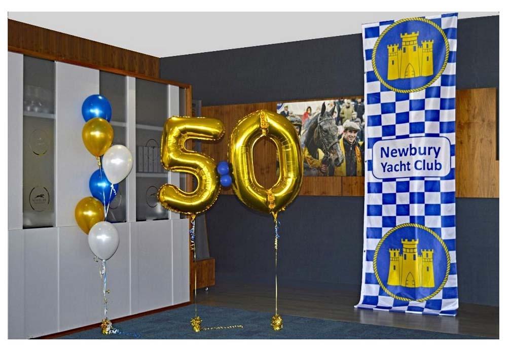 Newbury Yacht Club 50th Celebration Celebration photo book page 3