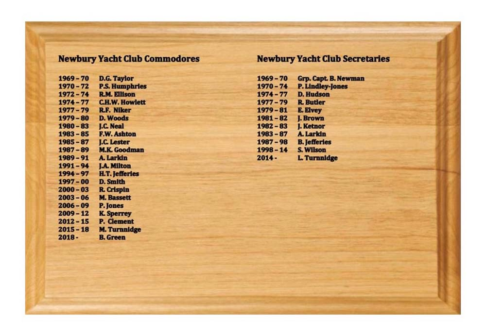 Newbury Yacht Club 50th Celebration Celebration photo book page 4